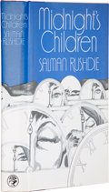 Books:Signed Editions, Salman Rushdie. Midnight's Children. London: Jonathan Cape,1981.. First edition. Signed by Rushdie on the...
