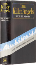 Books:First Editions, Michael Shaara. The Killer Angels. New York: David McKay,1974.. First edition. Octavo. 374 pages. With eighteen f...
