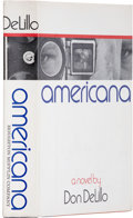 Books:Signed Editions, Don DeLillo. Americana. Boston: Houghton Mifflin Company,1971.. First edition. Octavo. Signed by the author. ...