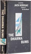 Books:First Editions, Jack Kerouac. The Dharma Bums. New York: Viking Press,1958.. First edition. Octavo. 244 pages.. . Black cloth ov...