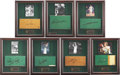 Basketball Collectibles:Others, 1920's-80's Boston Garden Relics Lot Including Seats, Signed FloorSections....