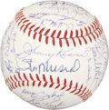 Autographs:Baseballs, 1963 St. Louis Cardinals Team Signed Ball....