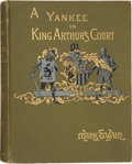 Books:Fiction, Mark Twain. A Connecticut Yankee in King Arthur's Court. NewYork: Charles L. Webster, 1889. First edition....