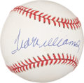 Autographs:Baseballs, Ted Williams UDA Single Signed Baseball. ...