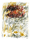 Fine Art - Work on Paper:Print, JOAN MITCHELL (American, 1926-1992). Flower III (from BedfordSeries), 1981. Lithograph in colors on paper. 42 x 32 inch...