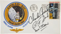 Explorers:Space Exploration, Apollo 12 Crew-Signed Insurance Cover Directly from the PersonalCollection of Mission Lunar Module Pilot Alan Bean....