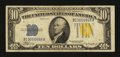Small Size:World War II Emergency Notes, Fr. 2309 $10 1934A North Africa Silver Certificate. Fine.. ...