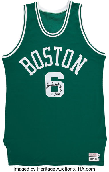 info for 134c4 b0f56 Bill Russell Signed Jersey. ... Basketball Collectibles ...