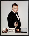 """Movie Posters:James Bond, Never Say Never Again (Warner Brothers, 1983). Exhibitor PromotionBook(14"""" X 17.25""""). James Bond.. ..."""