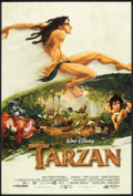 "Movie Posters:Animated, Tarzan (Buena Vista, 1999). One Sheets (2) (27"" X 40"") DS and DS Advance and Mini Poster (17.5"" X 23""). Animated.. ... (Total: 3 Items)"