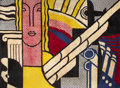 Rugs & Textiles:Carpets, ROY LICHTENSTEIN (American, 1923-1997). Modern Tapestry,1968. Wool. 108 x 148 inches (274.3 x 375.9 cm). From an editio...
