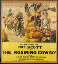 "The Roaming Cowboy (Advance Pictures, 1937). Six Sheet (71"" X 79""). Western"