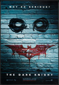 "Movie Posters:Action, The Dark Knight (Warner Brothers, 2007). One Sheet (27"" X 40"") DSAdvance Style B. Action.. ..."