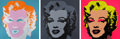 Prints, After ANDY WARHOL (American, 1928-1987). Marilyn Monroe (Portfolio of 10 prints). Screenprint on museum board. Each 36 x...