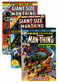 Man-Thing Group (Marvel, 1974-75) Condition: Average NM-.... (Total: 14 Comic Books)