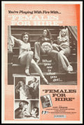 """Movie Posters:Adult, Females for Hire (Independent International Pictures, 1975). One Sheet (27"""" X 41""""). Adult.. ..."""