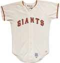 Baseball Collectibles:Uniforms, 1973 Damaso Blanco San Francisco Giants Game Worn Jersey. ...
