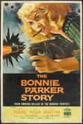 "The Bonnie Parker Story (American International, 1958). Poster (40"" X 60""). Crime"