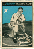 Baseball Cards:Singles (1950-1959), 1955 Rawlings Stan Musial #2. ...