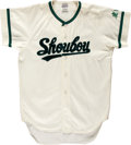 Baseball Collectibles:Uniforms, Japanese Amateur Baseball Game Worn Jersey...
