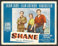 "Movie Posters:Western, Shane (Paramount, 1953). Lobby Card Set of 8 (11"" X 14""). Western..... (Total: 8 Items)"