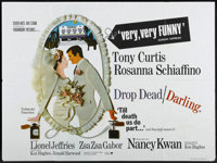 "Drop Dead Darling (Paramount, 1966). British Quad (30"" X 40""). Comedy"