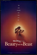 "Movie Posters:Animated, Beauty and the Beast (Buena Vista, 1991). One Sheet (27"" X 40"") DS.Animated.. ..."