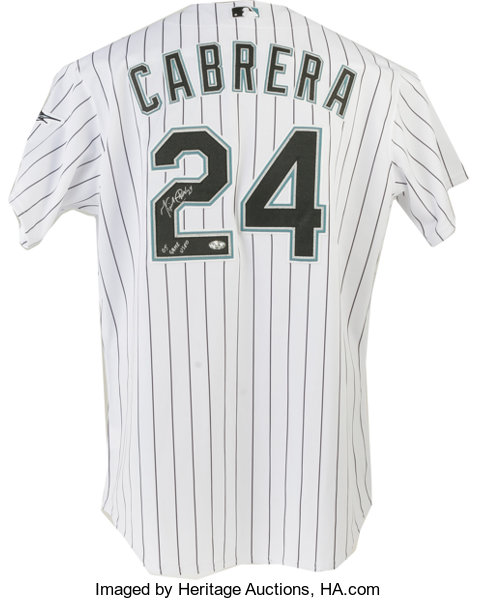 wholesale dealer 35454 a8b8c best price miguel cabrera signed jersey f2cd0 e4bc4