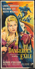"Movie Posters:Adventure, Dangerous Exile (Rank, 1957). British Three Sheet (39"" X 81"").Adventure.. ..."