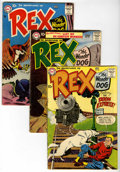 Silver Age (1956-1969):Adventure, Adventures of Rex the Wonder Dog Group (DC, 1957-59).... (Total: 9 Comic Books)