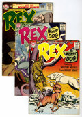 Silver Age (1956-1969):Adventure, Adventures of Rex the Wonder Dog Group (DC, 1957-59) Condition: Average FN+.... (Total: 8 Comic Books)