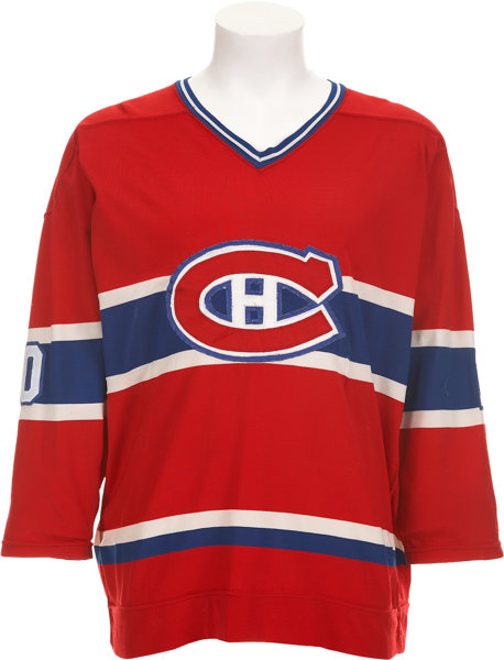 the best attitude 47cf8 4edae 1977-78 Guy Lafleur Game Worn Jersey.... Hockey Collectibles ...