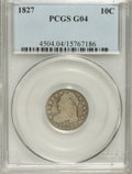 Bust Dimes: , 1827 10C G4 PCGS. PCGS Population (3/277). NGC Census: (1/241).Mintage: 1,300,000. Numismedia Wsl. Price for NGC/PCGS coin...