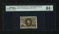 "Fractional Currency:Second Issue, Fr. 1234 5c Second Issue ""Missing 63"" Variety PMG Choice Uncirculated 64 EPQ...."