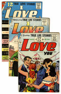 Golden Age (1938-1955):Romance, I Love You File Copies Group (Charlton, 1955-62) Condition: AverageFN/VF.... (Total: 10 )