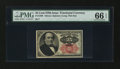 Fractional Currency:Fifth Issue, Fr. 1308 25c Fifth Issue PMG Gem Uncirculated 66 EPQ....