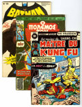 Bronze Age (1970-1979):Miscellaneous, Comic Books - Assorted Bronze and Modern Age Foreign Edition ComicsGroup (Various, 1970s) Average FN.... (Total: 35 Comic Books)