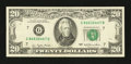 Error Notes:Ink Smears, Fr. 2072-G $20 1977 Federal Reserve Note. Extremely Fine.. ...