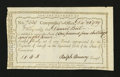 Colonial Notes:Connecticut, Connecticut Fiscal Paper. Interest Due. December 28, 1789. ChoiceAbout New....