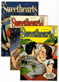 Golden Age (1938-1955):Romance, Sweethearts File Copies Group (Charlton, 1954-62) Condition:Average VF.... (Total: 8 )