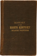 Books:Non-fiction, T. J. Wright. History of the Eighth Regiment Kentucky Vol. Inf.During its Three Years Campaigns. St. Joseph: St. Jo...