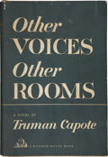Books:First Editions, Truman Capote. Other Voices, Other Rooms. New York: RandomHouse, 1948. First edition. Very good....