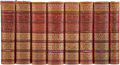 Books:First Editions, [J. Payne Collier, editor]. The Plays and Poems of WilliamShakespeare, with the Purest Text, and the Briefest Not...(Total: 9 Items)