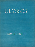 Books:First Editions, James Joyce. Ulysses. Paris: Shakespeare and Company, 1922.. First edition, this copy one of 150 copies printe...