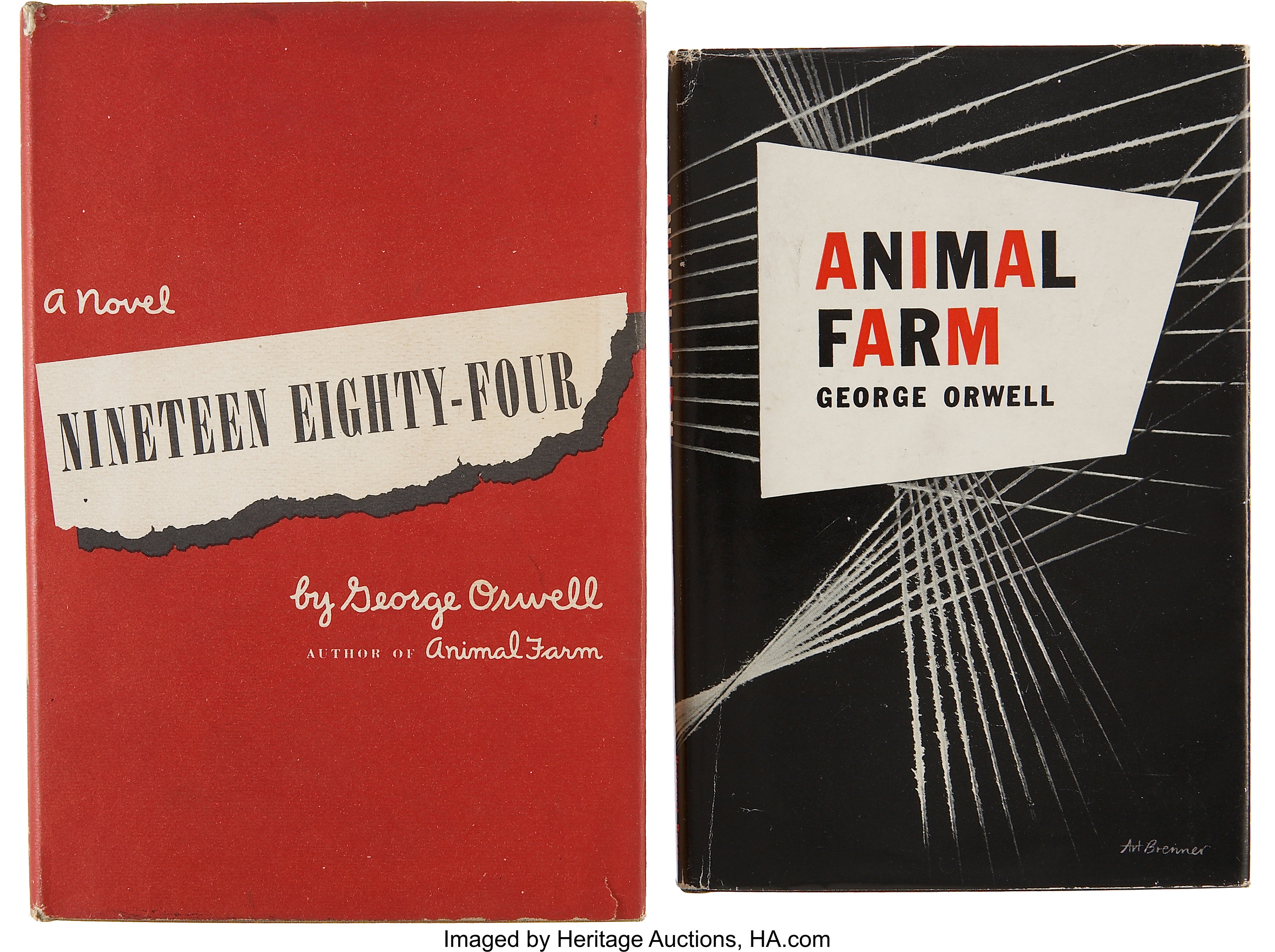 George Orwell Two First Editions Including Animal Farm New Lot 37437 Heritage Auctions