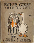 Books:Children's Books, L. Frank Baum. W. W. Denslow [illustrator]. Father Goose. HisBook -- With an Original Drawing by Denslow, Inscrib...
