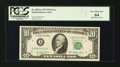 Error Notes:Ink Smears, Fr. 2023-A $10 1977 Federal Reserve Note. PCGS Very Choice New 64.....