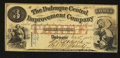 Obsoletes By State:Iowa, Dubuque, IA- The Dubuque Central Improvement Company $3 Dec. 21,1857 . ...