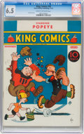Platinum Age (1897-1937):Miscellaneous, King Comics #20 (David McKay Publications, 1937) CGC FN+ 6.5 Creamto off-white pages....