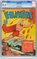Golden Age (1938-1955):Adventure, The Funnies #53 (Dell, 1941) CGC VF+ 8.5 Cream to off-white pages....